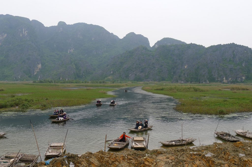 世界遺産チャンアンとハノイ郊外ドゥオンラム村(ベトナム)|2018年12月